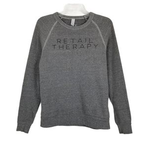 Retail Therapy ILY Couture Sweatshirt Crew Graphic